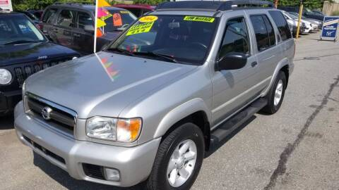 2004 Nissan Pathfinder for sale at Howe's Auto Sales in Lowell MA