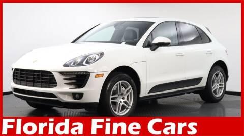 2018 Porsche Macan for sale at Florida Fine Cars - West Palm Beach in West Palm Beach FL