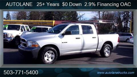 2010 Dodge Ram Pickup 1500 for sale at Auto Lane in Portland OR