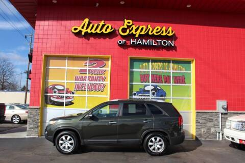 2012 Kia Sorento for sale at AUTO EXPRESS OF HAMILTON LLC in Hamilton OH