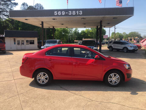 2016 Chevrolet Sonic for sale at BOB SMITH AUTO SALES in Mineola TX