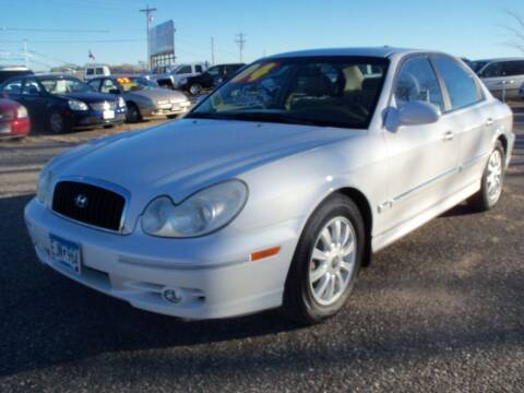 2004 Hyundai Sonata for sale at Country Side Car Sales in Elk River MN