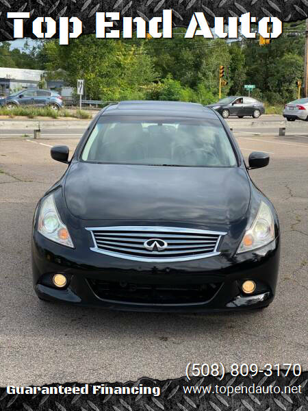2011 Infiniti G25 Sedan for sale at Top End Auto in North Atteboro MA