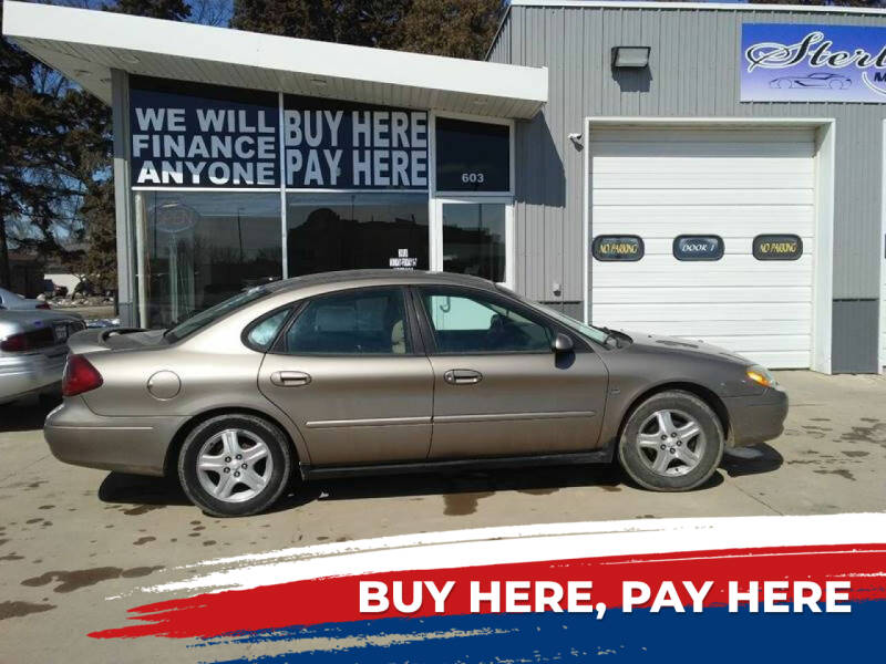 2002 Ford Taurus for sale at STERLING MOTORS in Watertown SD