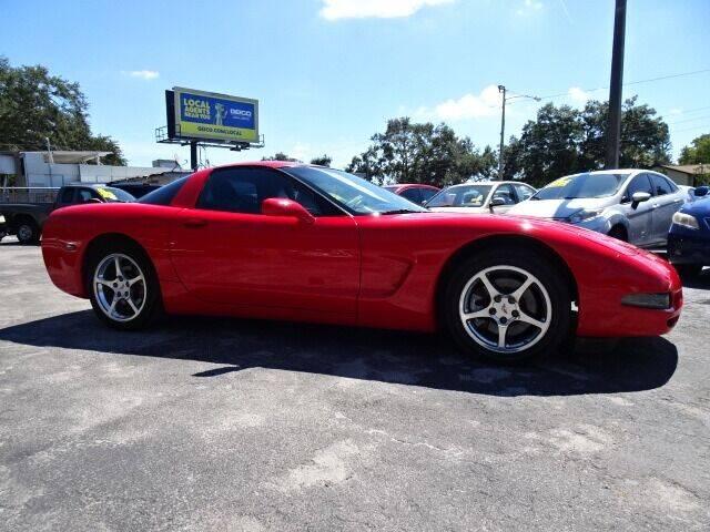 2002 Chevrolet Corvette for sale at DONNY MILLS AUTO SALES in Largo FL