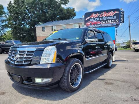2011 Cadillac Escalade ESV for sale at Auto Outlet Sales and Rentals in Norfolk VA