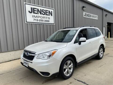 2015 Subaru Forester for sale at Jensen's Dealerships in Sioux City IA