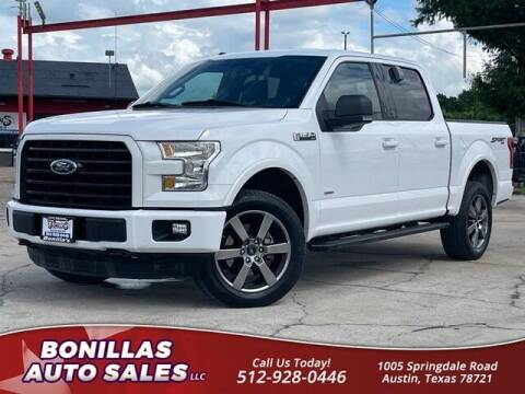 2015 Ford F-150 for sale at Bonillas Auto Sales in Austin TX