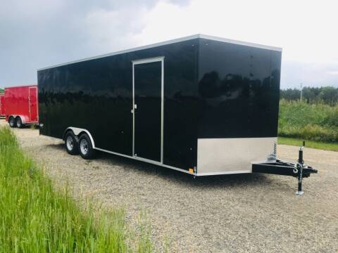 2022 Pace American 8.5x20 V-Nose Tandem 7K Axle  for sale at Forkey Auto & Trailer Sales in La Fargeville NY