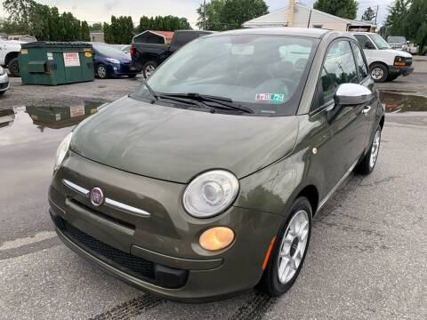 2012 FIAT 500 for sale at Sam's Auto in Akron PA