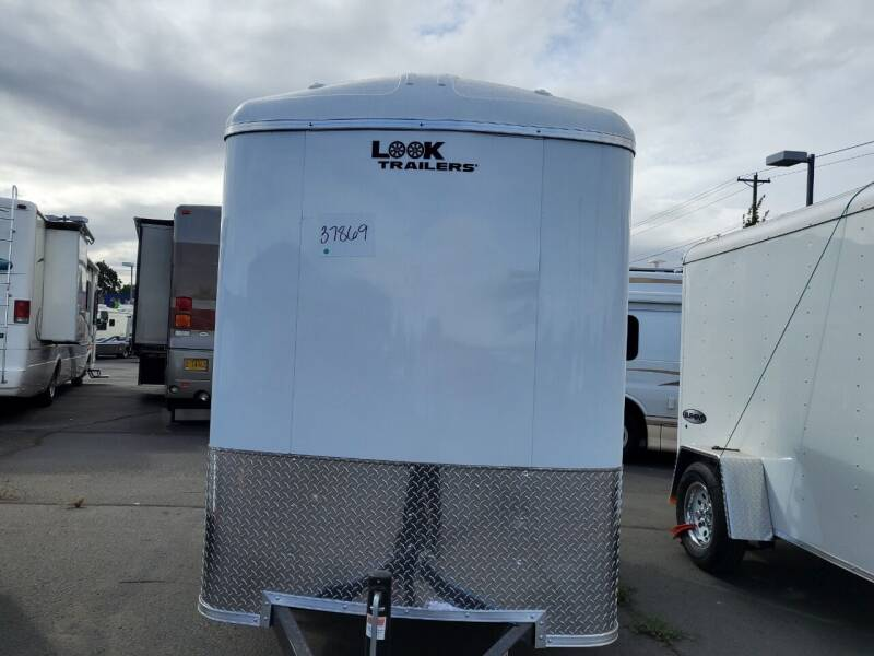 2022 Look Cargo Trailer LSCBA5.0X08S12RD for sale at Siamak's Car Company llc in Salem OR