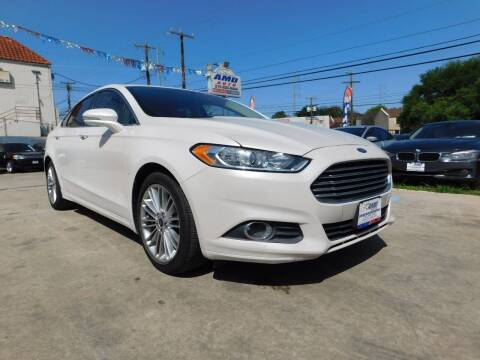 2015 Ford Fusion for sale at AMD AUTO in San Antonio TX