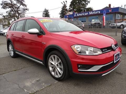 2017 Volkswagen Golf Alltrack for sale at All American Motors in Tacoma WA