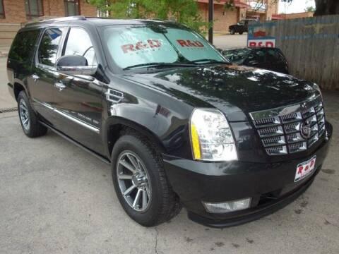 2011 Cadillac Escalade ESV for sale at R & D Motors in Austin TX