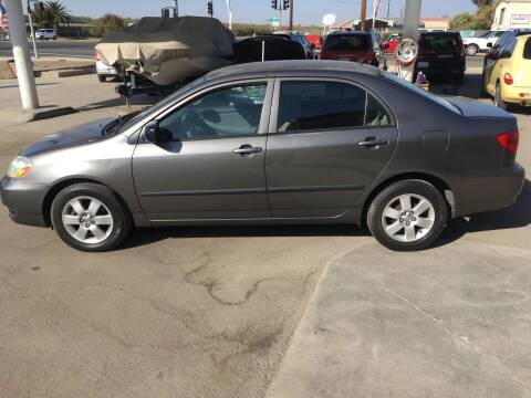 2007 Toyota Corolla for sale at CONTINENTAL AUTO EXCHANGE in Lemoore CA