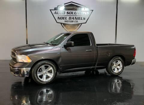 2015 RAM Ram Pickup 1500 for sale at Noel Daniels Motor Company in Ridgeland MS