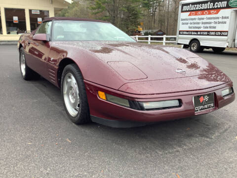 1993 Chevrolet Corvette for sale at Motuzas Automotive Inc. in Upton MA