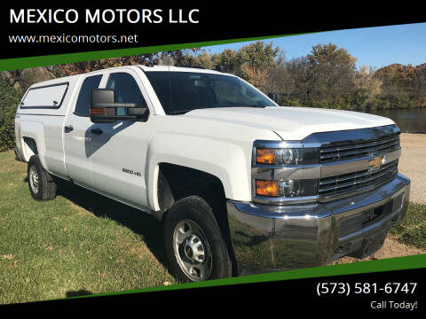 2016 Chevrolet Silverado 2500HD for sale at MEXICO MOTORS LLC in Mexico MO