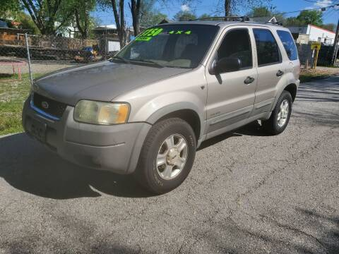 2001 Ford Escape for sale at Street Side Auto Sales in Independence MO