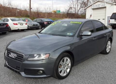 2012 Audi A4 for sale at Bik's Auto Sales in Camp Hill PA