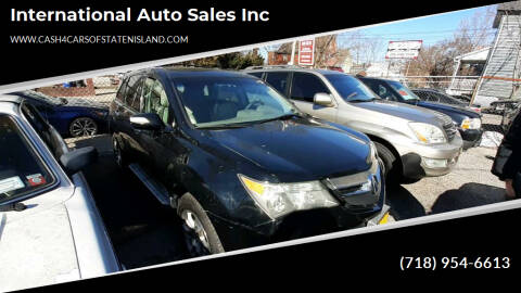 2007 Acura MDX for sale at International Auto Sales Inc in Staten Island NY