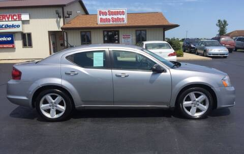 2013 Dodge Avenger for sale at Pro Source Auto Sales in Otterbein IN