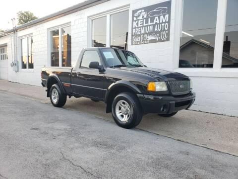 2003 Ford Ranger for sale at Kellam Premium Auto Sales & Detailing LLC in Loudon TN
