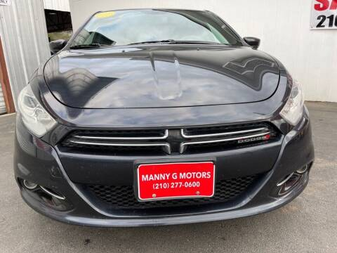 2013 Dodge Dart for sale at Manny G Motors in San Antonio TX