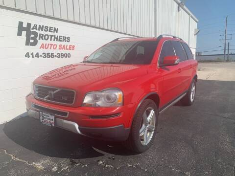 2007 Volvo XC90 for sale at HANSEN BROTHERS AUTO SALES in Milwaukee WI