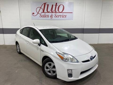 2010 Toyota Prius for sale at Auto Sales & Service Wholesale in Indianapolis IN