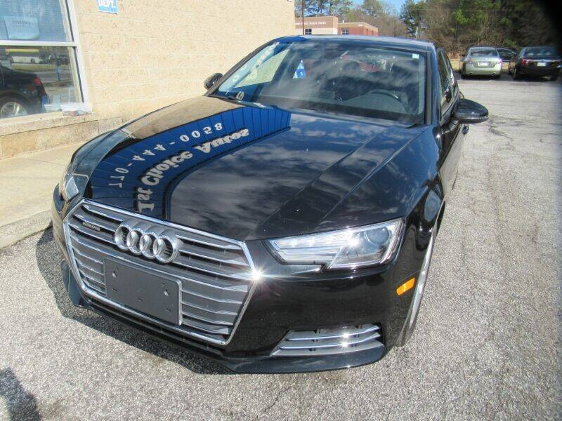 2017 Audi A4 for sale at Southern Auto Solutions - Georgia Car Finder - Southern Auto Solutions - 1st Choice Autos in Marietta GA