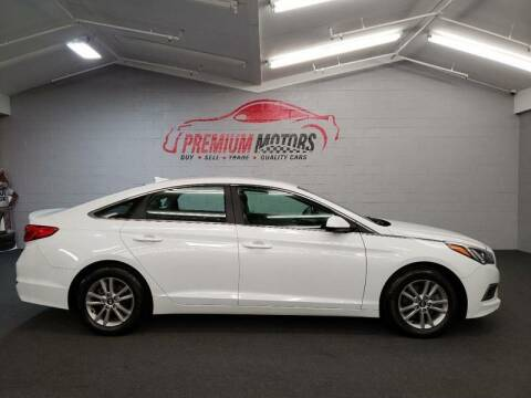 2016 Hyundai Sonata for sale at Premium Motors in Villa Park IL