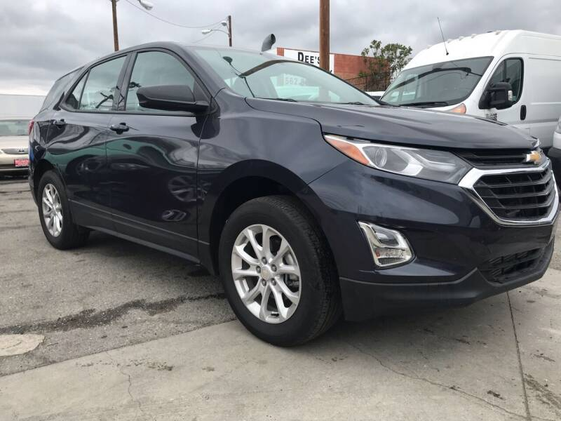 2018 Chevrolet Equinox for sale at Best Buy Quality Cars in Bellflower CA