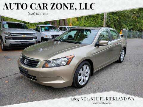 2008 Honda Accord for sale at Auto Car Zone, LLC in Kirkland WA