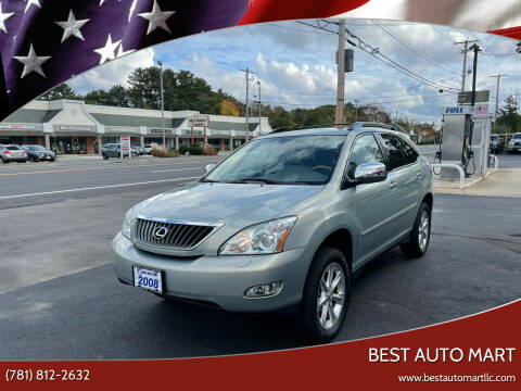 2008 Lexus RX 350 for sale at Best Auto Mart in Weymouth MA