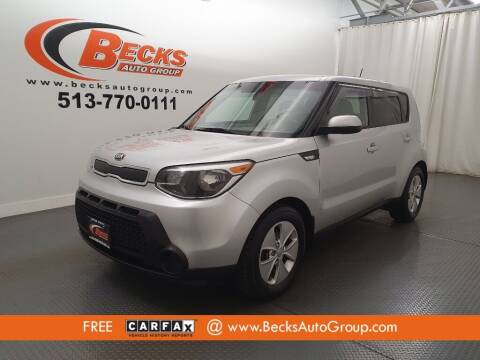 2014 Kia Soul for sale at Becks Auto Group in Mason OH