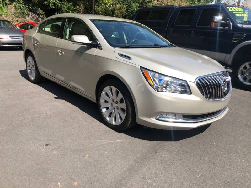 2015 Buick LaCrosse for sale at Diehl's Auto Sales in Pottsville PA