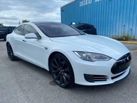 2015 Tesla Model S for sale at DELRAY AUTO MALL in Delray Beach FL