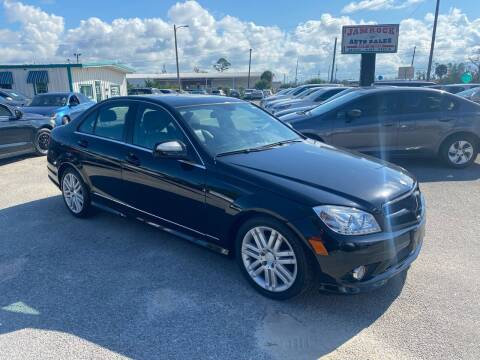 2008 Mercedes-Benz C-Class for sale at Jamrock Auto Sales of Panama City in Panama City FL