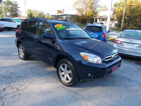 2006 Toyota RAV4 for sale at Careys Auto Sales in Rutland VT