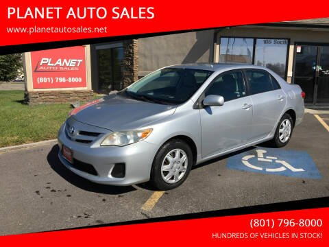 2011 Toyota Corolla for sale at PLANET AUTO SALES in Lindon UT