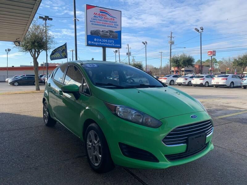 2015 Ford Fiesta for sale at Magic Auto Sales in Dallas TX