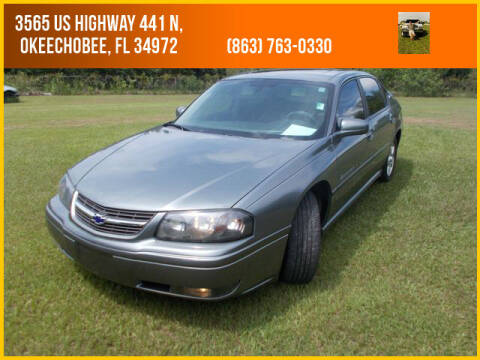 2004 Chevrolet Impala for sale at M & M AUTO BROKERS INC in Okeechobee FL