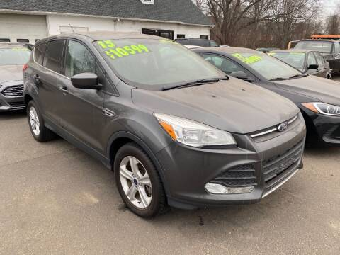 2015 Ford Escape for sale at East Windsor Auto in East Windsor CT
