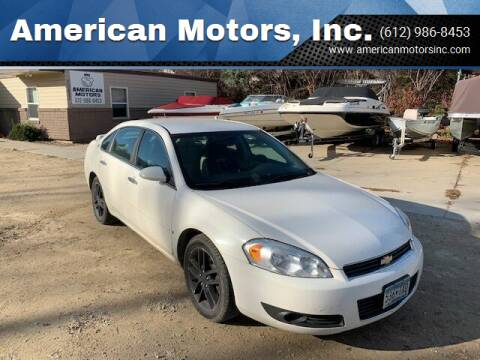 2008 Chevrolet Impala for sale at American Motors, Inc. in Farmington MN