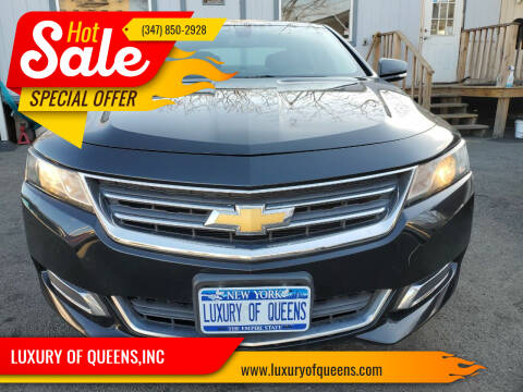 2015 Chevrolet Impala for sale at LUXURY OF QUEENS,INC in Long Island City NY