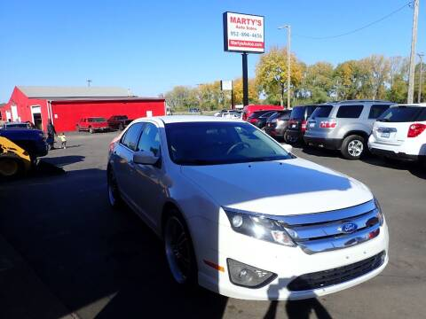 2011 Ford Fusion for sale at Marty's Auto Sales in Savage MN
