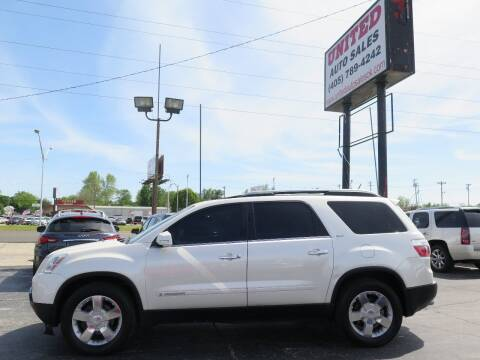 2008 GMC Acadia for sale at United Auto Sales in Oklahoma City OK