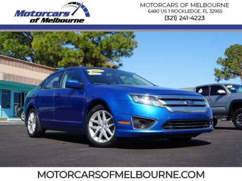 2012 Ford Fusion for sale at Motorcars of Melbourne in Rockledge FL