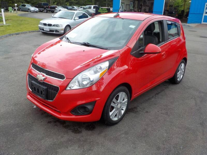 2013 Chevrolet Spark for sale at RTE 123 Village Auto Sales Inc. in Attleboro MA